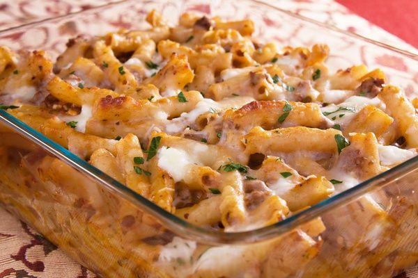 Pasta Recipe: Baked Ziti with Homemade Sauce