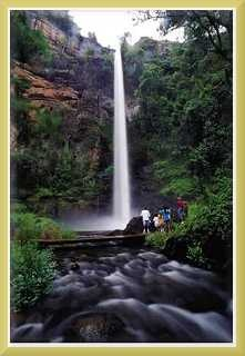 Lone Creek Falls, outside Sabie, Mpumalanga.   If God has a favourite place, I bet this is it.