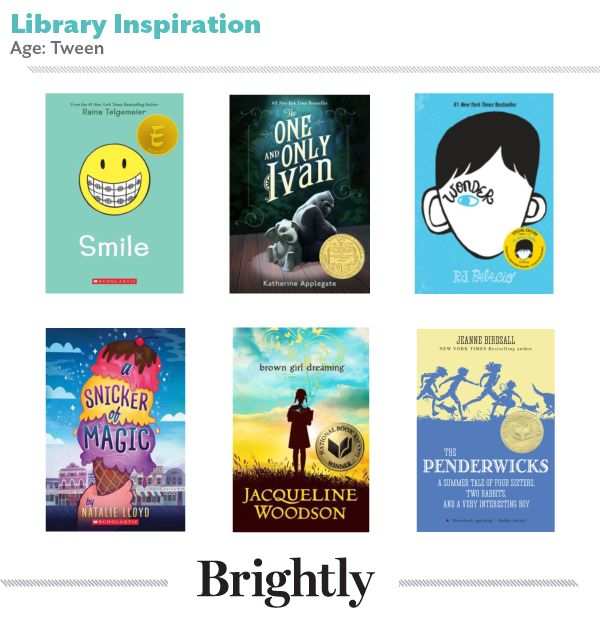 Book Suggestions for Tweens