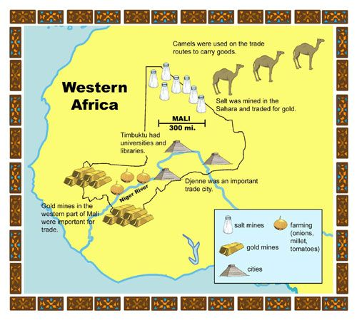 west african empire of ancient mali Video: african cultures: ghana, mali,  ancient trade cities on africa's east coast  in west africa, the three most important empires were ghana, mali, and songhai, all of which profited .