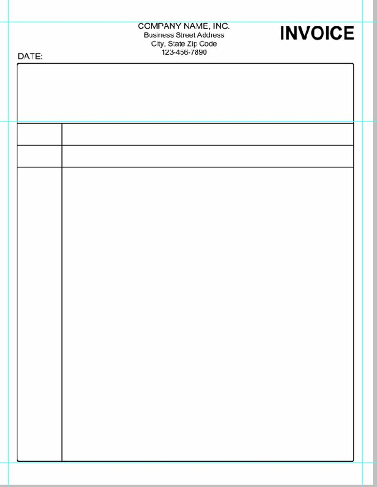 blank invoice template microsoft word invoice template