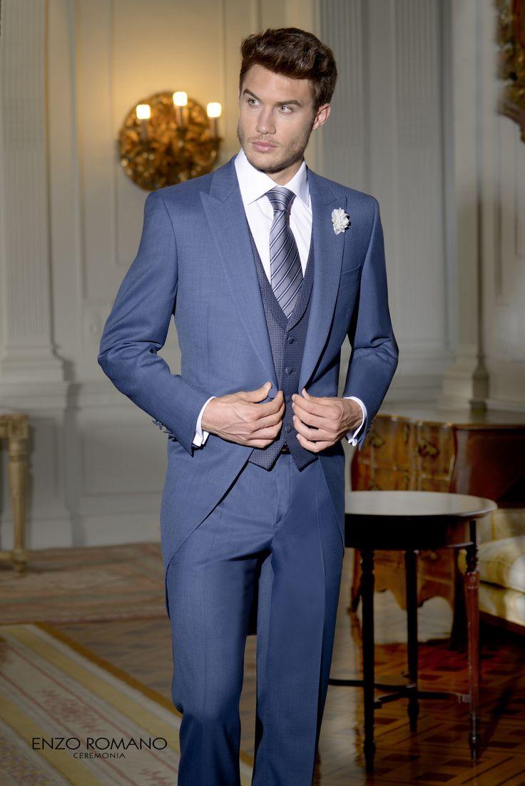 Chaqué de novio de la firma Enzo Romano.  Disponible en tienda: www.sastrariacampfaso.es