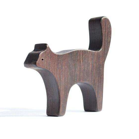 Gato de madera
