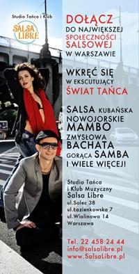 Ruszamy z zajęciami na Ursynowie!  http://www.salsalibre.pl/web/content/view/995/131/lang,pl/