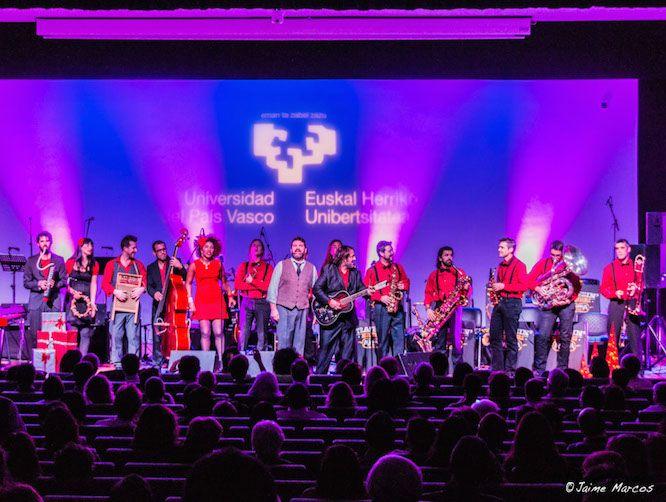 Concierto de Navidad en la Universidad del País Vasco