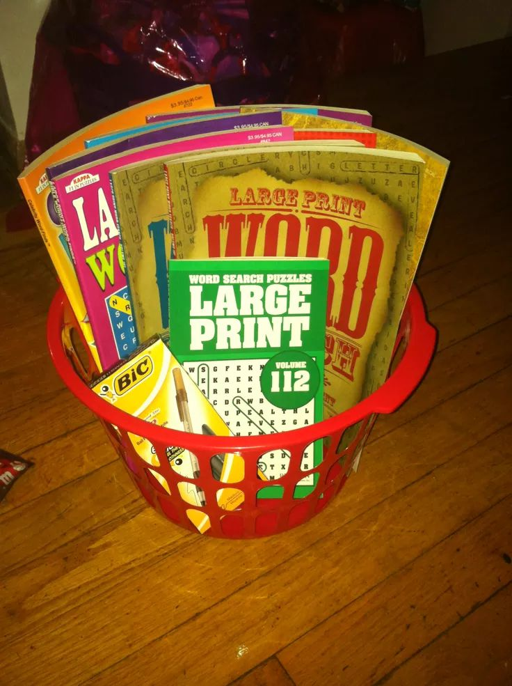 Crossword puzzle gift basket puzzles gifts crossword