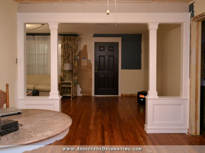 how to build a divider wall in basement