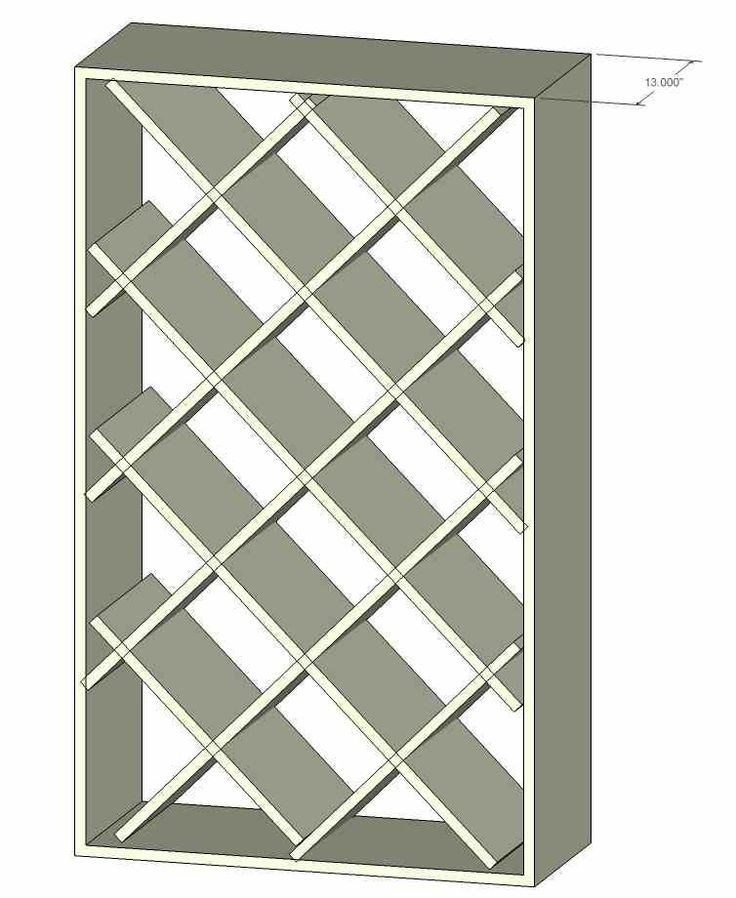 small wine rack plans 1