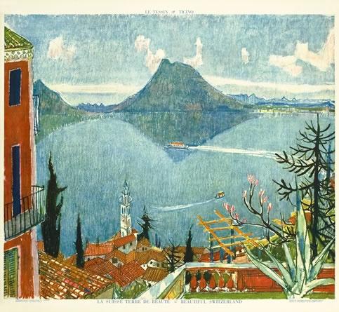 Ticino, by Alois Carigiet