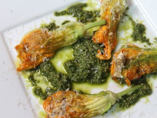 ... Squash Blossoms on Pinterest | Bacon, Stuffed squash blossoms and
