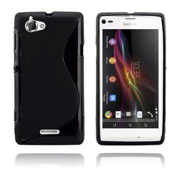 S-Line (Musta) Sony Xperia L Suojakotelo