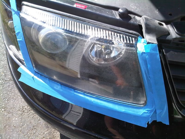 Headlight restoration DIY - 3M Edition