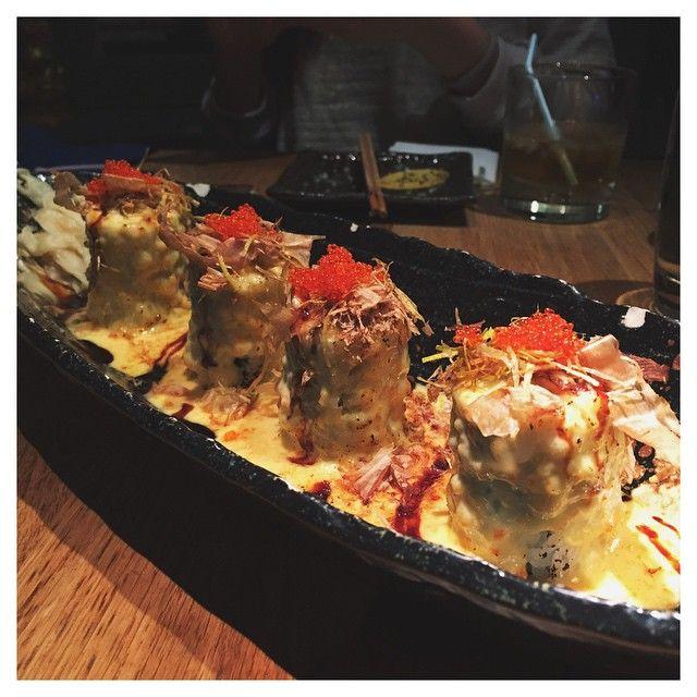 Volcano Roll // Dozo Sushi