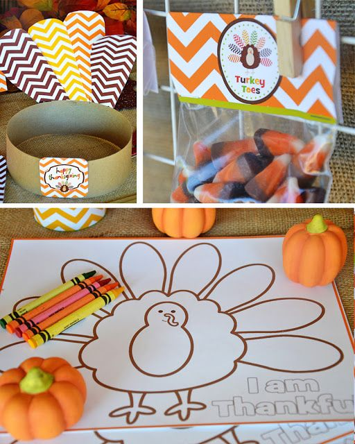 Amanda's Parties TO GO: Thanksgiving FREE Printables! Lots of party ideas and printables