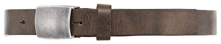 11192 narrow belt, 2,5 cm, taupe.