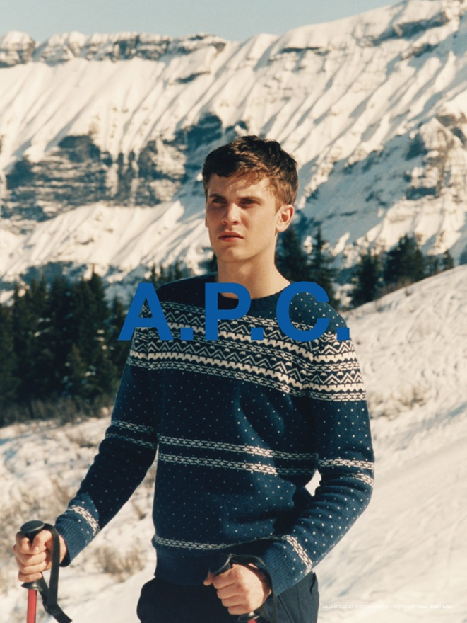 William Eustace by Venetia Scott for A.P.C. Fall Winter 2011/12