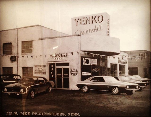 YENKO Chevrolet | Vintage muscle cars, Car dealership, Camaro art