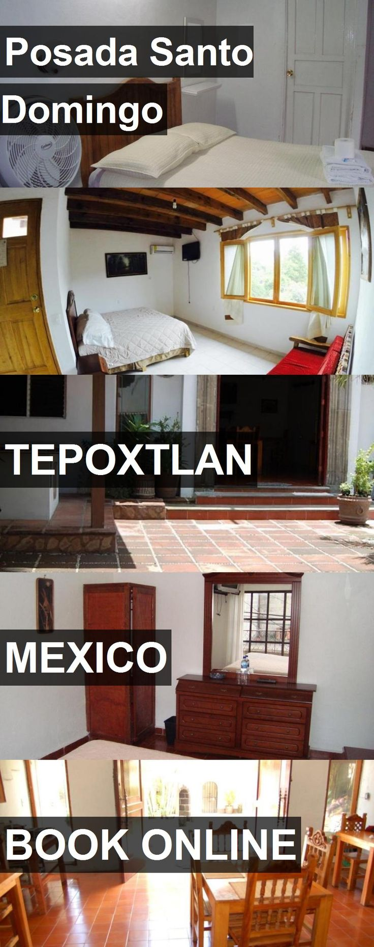 Hotel Posada Santo Domingo in Tepoxtlan, Mexico. For more information, photos, reviews and best prices please follow the link. #Mexico #Tepoxtlan #travel #vacation #hotel