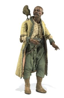 A Neapolitan creche figure of a pirate