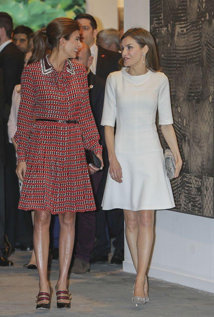 Los Reyes disfrutaron de ARCO junto al Presidente y la Primera Dama de Argentina mientras se decidía el futuro de Urdangarin