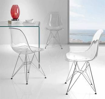 105 best images about fauteuils chaises design ou contemporains on pinterest - Chaise design plastique ...