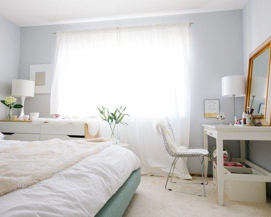 sofá azul oscuro decoración muebles de diseño decoración en blanco