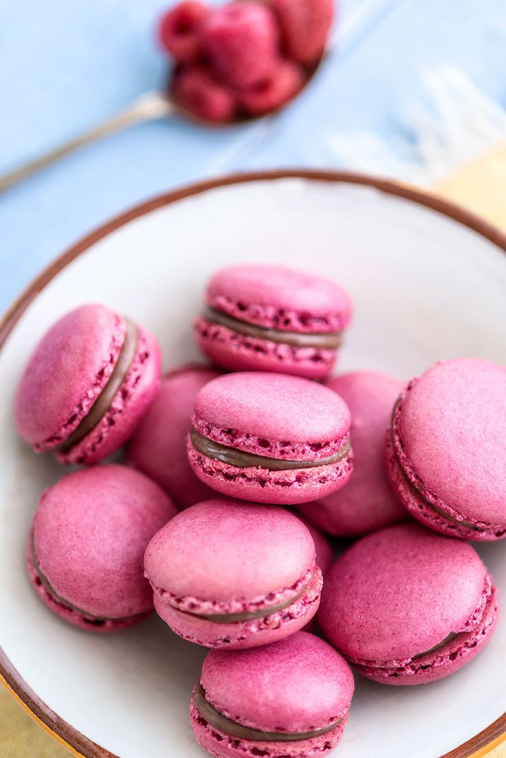 Scrummy macaroons by the very talented Clare Fenwick Hyde of the Malvern supper Club