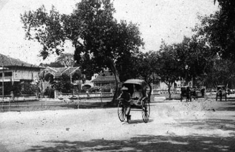Rickshaws (1890) - Saigon, Vietnam