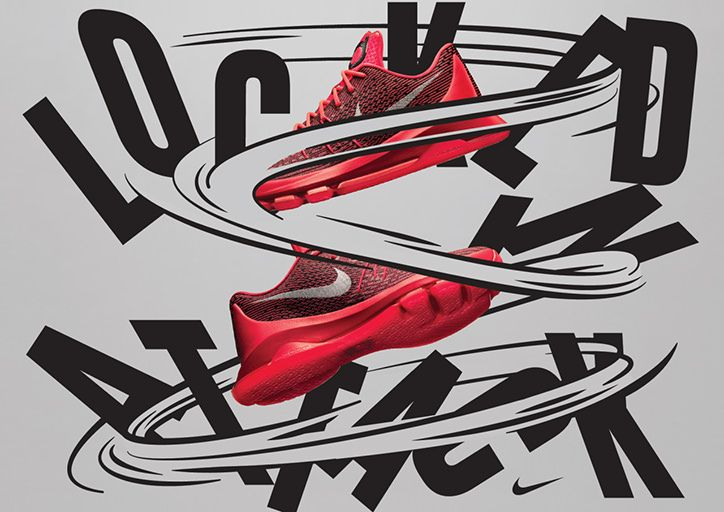HORT's latest monochromatic work for Nike is both bold and refined.