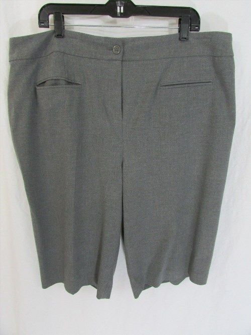 23.99$  Buy now - http://vijfo.justgood.pw/vig/item.php?t=jqw89552752 - Inc. International Concept Women Grey Shorts Size 20 23.99$