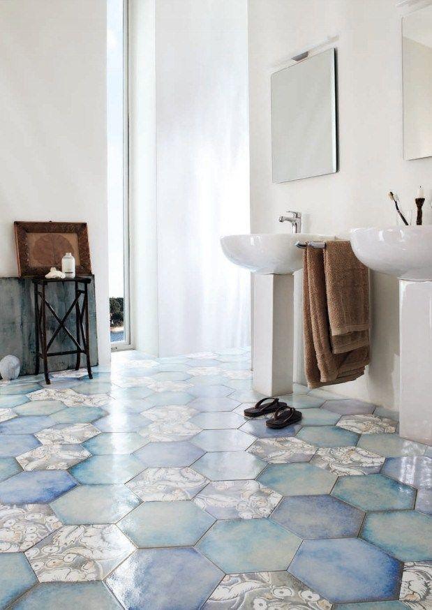 Porcelain stoneware #floor #tiles PASTELLO by Grestec Tiles @grestectiles
