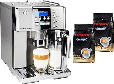 "bei QUELLE Online 799,- €  De""Longhi Kaffeevollautomat »Prima Donna ESAM 6620«"