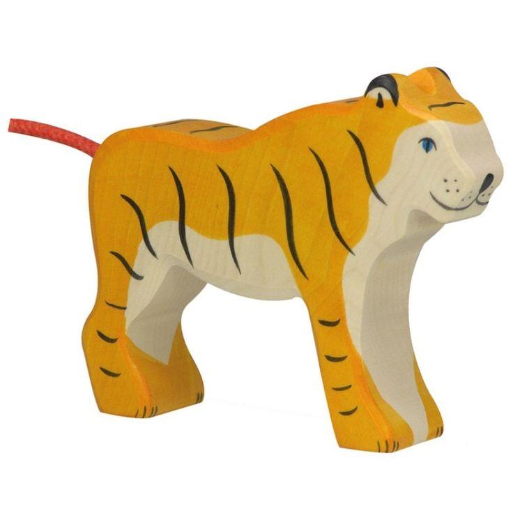 Wooden Tiger Holztiger Toy | Worldwide shipping www.minizoo.com.au
