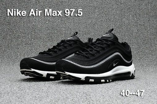 Original Nike Air Max 97 97.5 Black White Oreo Nike Air Max 97 Wholesale e8d26302a