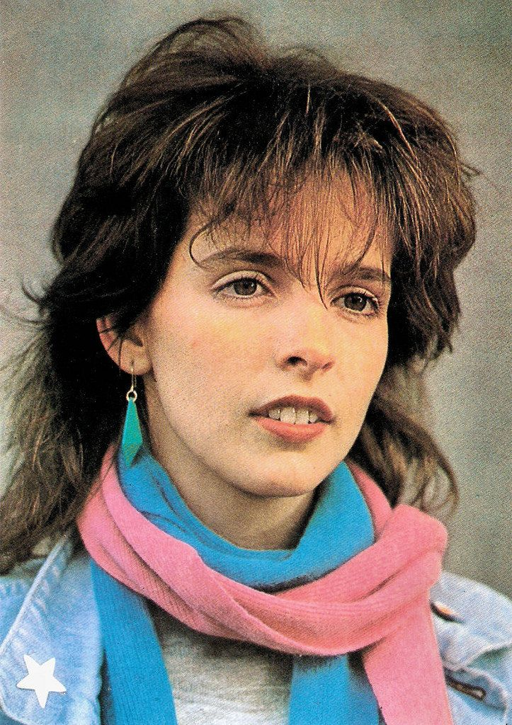 https://flic.kr/p/AUCYDb | Nena | German postcard.  German singer-songwriter, actress Nena (1960) rose to international fame with the German New Wave song 99 Luftballons (1983). Nena was also the name of the band with whom she released the song.