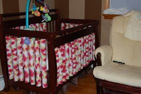 Crafted by mama: Single Crib bumpers DIY Wonder Bumpers