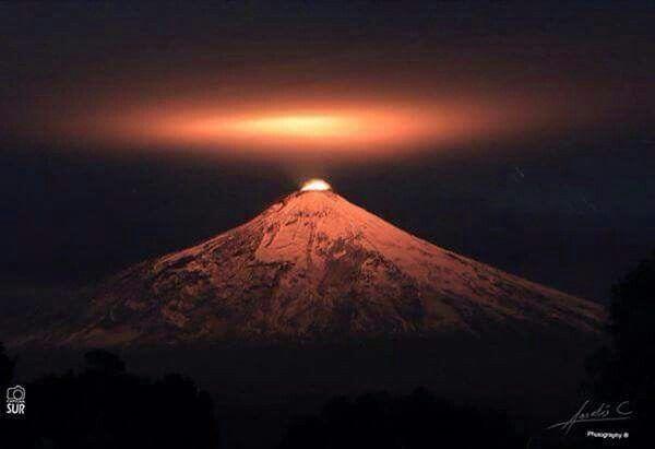 Volcan villarrica,Chile