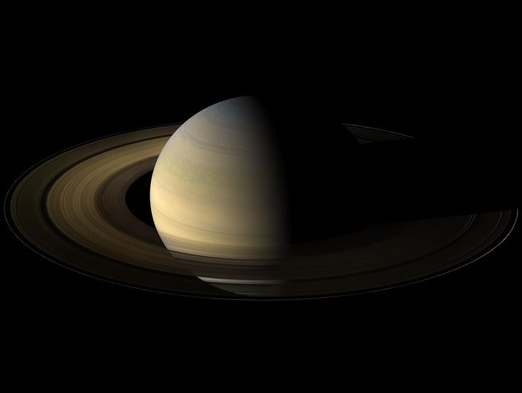 Saturn Is The Sixth Planet From The Sun And The Second
