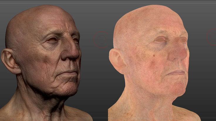 Title: portrait attemp  Name: Alex Huguet  Country: United Kingdom  Software: Maya, Mudbox, VRay, ZBrush