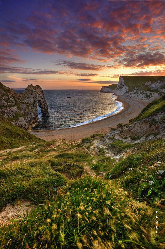 Durdle Door, Dorset, England | by Pawel Tomaszewicz on 500px