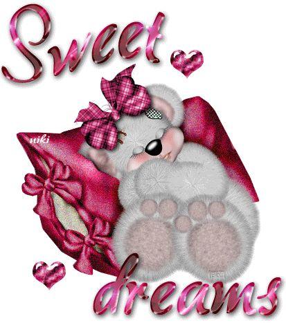Animated Glitter Graphics Beautiful   Sweet Dreams!