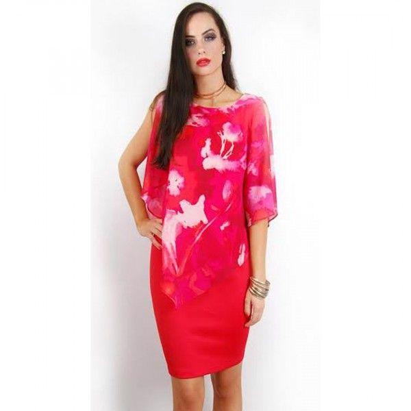 Bree Asymmetric Party Dress