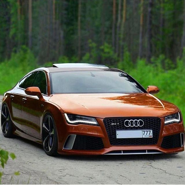 Rs For Luxury Cars: Crazy Specced Audi RS7!