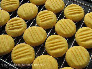 Koekje van eigen deeg: Custard biscuit
