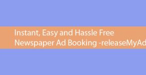 Advertising in newspaper are generally done in two ways , Classifieds where ads are given in the short  description and Display where ads are given with an image,The later being a bit costly are used by big companies and organizations.