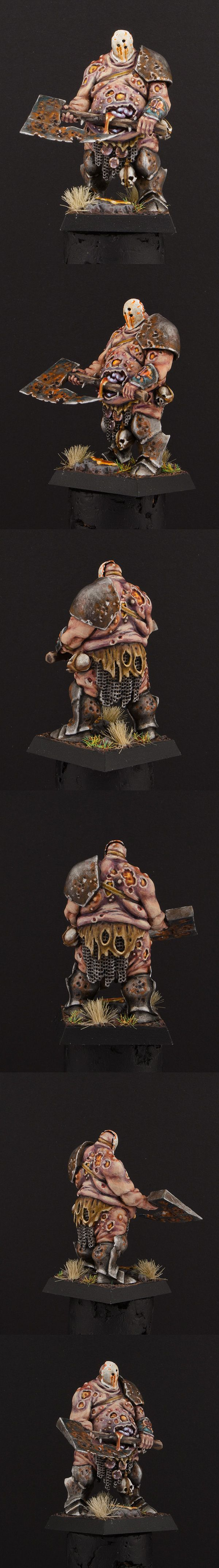 Many people have done a good job with this model, I like what he did with the head.