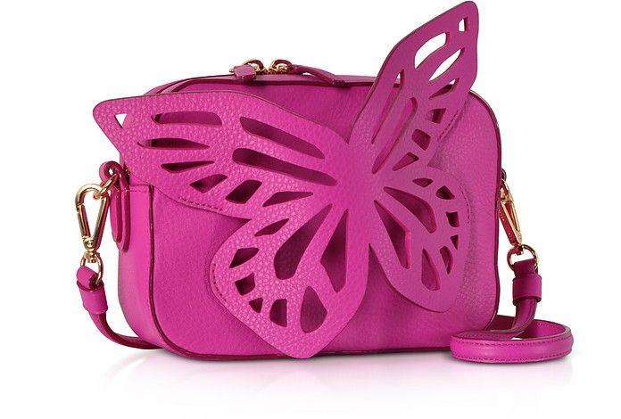 BRIGHTON ROSIE Women/'s Mini Camera Bag Shoulder Purse Rosie Pink Leather
