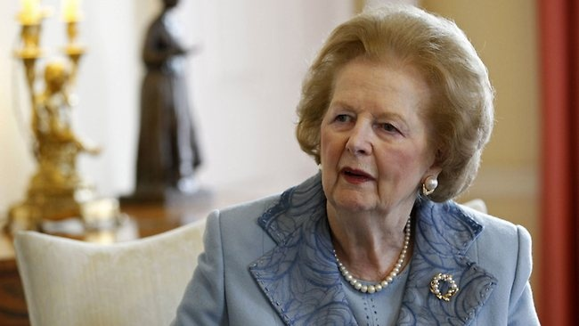 FORMER British Prime Minister Margaret Thatcher has died of a stroke aged 87 years.