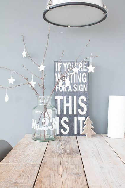Scandinavian  by Louise de Miranda ~ If you're waiting for a sign, this is it! :-D