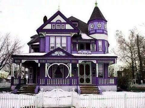 Purple Victorian! Yes please!